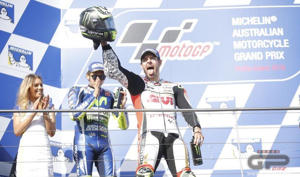 """""""Ora non diranno più che vinco solo sul bagnato. Per tutta la gara ho pensato alla caduta con la Ducati quando ero sul podio"""""""