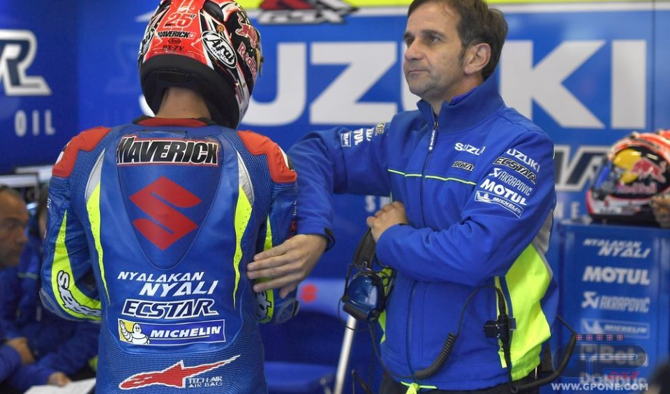 """Both think only of winning but they respect each other"". On Iannone: ""he can go far with the Suzuki"""