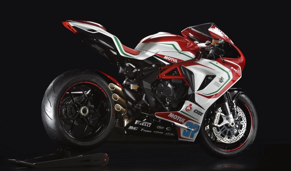 Race replica of the Italian SuperSport to be made. 675 or 800, will be produced in a limited edition of 350 units