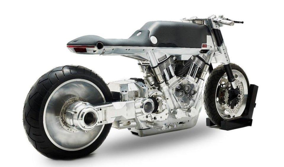 Presentata una nuova moto quasi completamente in alluminio. Arriverà nel 2018 e costerà 30.000 dollari