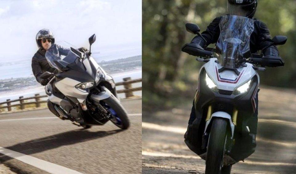 Scooter: X-ADV vs T-MAX: filosofie a confronto