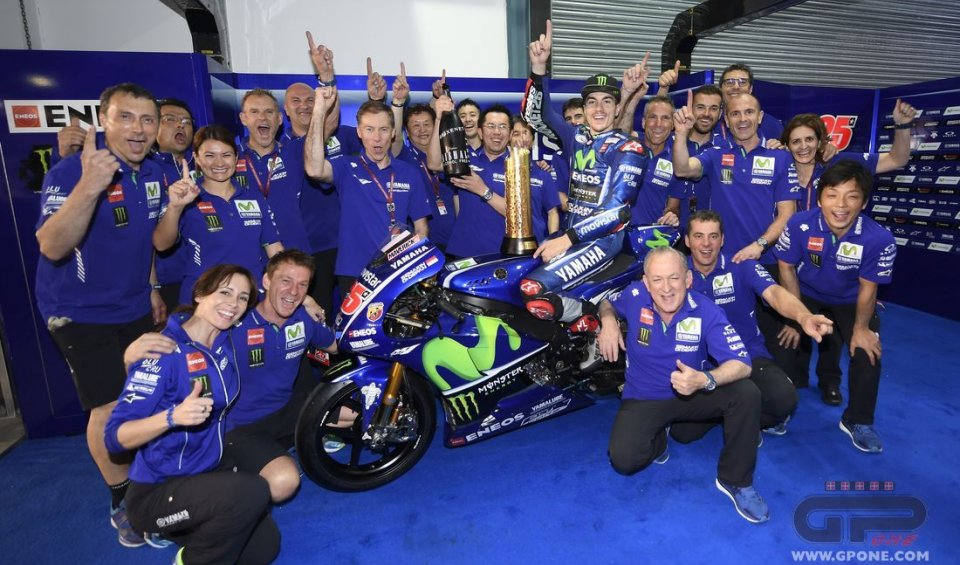 MotoGP: Vinales like Rossi and Hailwood: new bike and immediately a winner