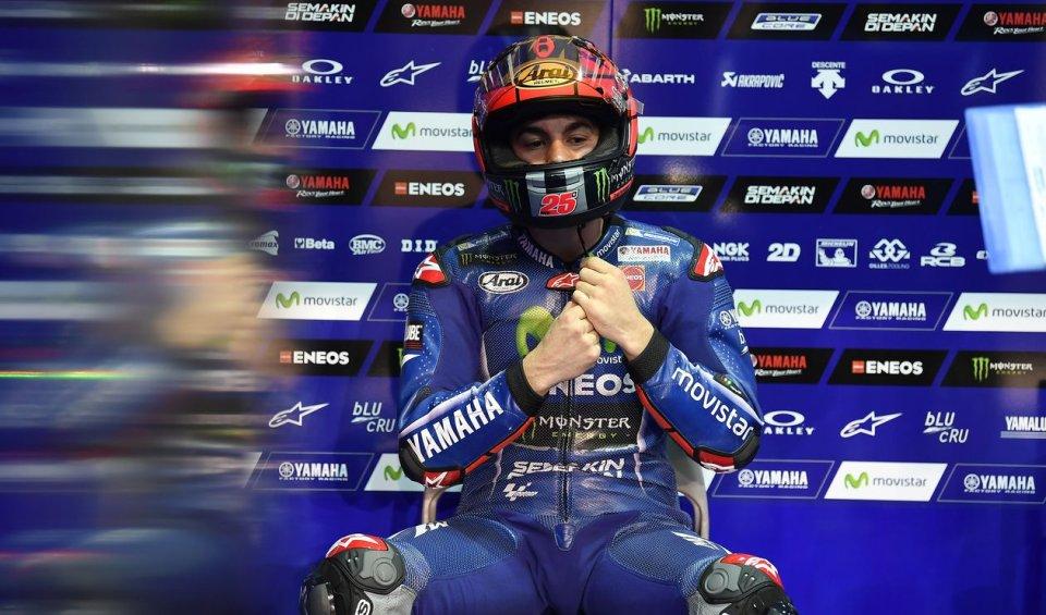 """MotoGP: Viñales: """"I am incredulous, I should not have crashed"""""""