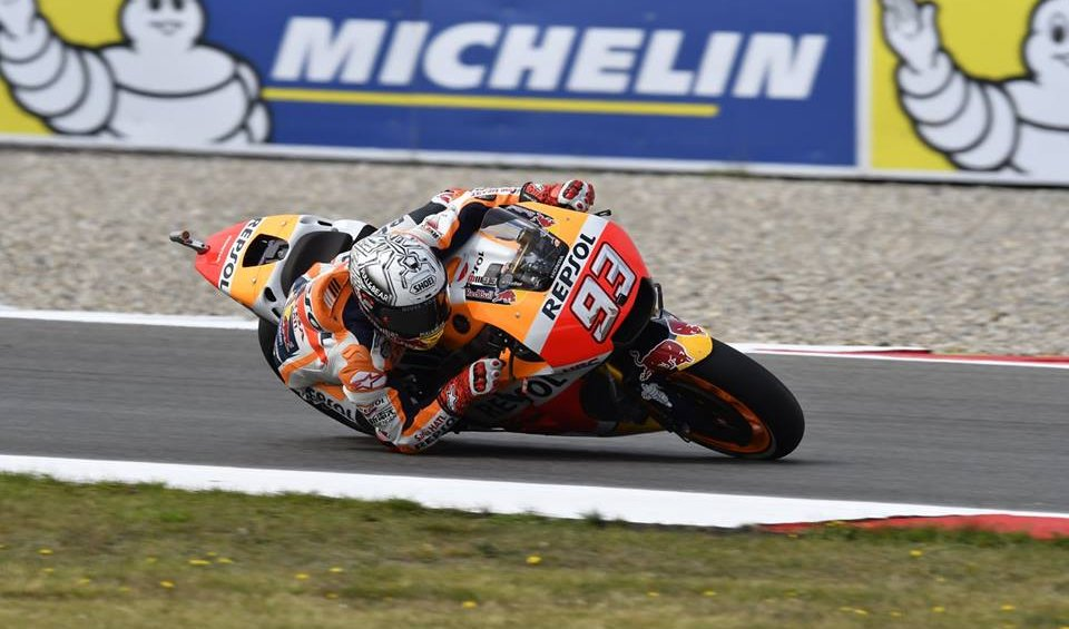 """MotoGP: Marquez: """"ready to work at the Sachsenring"""""""