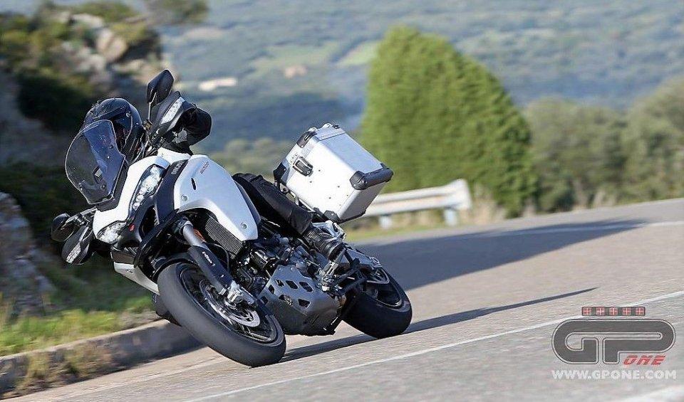 News Prodotto: Ducati, aumento di cilindrata per la Multistrada: arriva la 1260