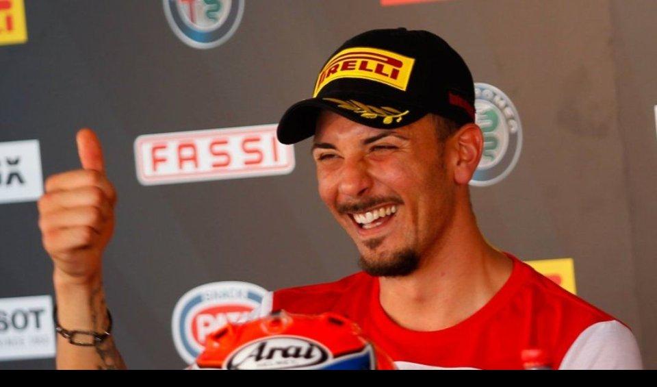 SBK: Davide Giugliano proverà la Honda di Hayden al Lausitzring