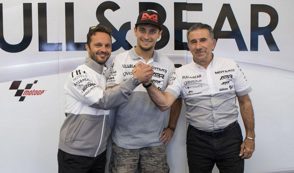 MotoGP: Abraham rinnova con il team Aspar per il 2018