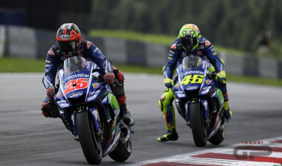 MotoGP: A Silverstone suona la sveglia per Rossi e Vinales
