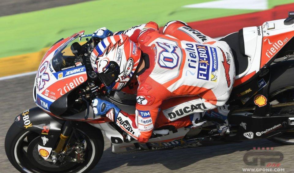 MotoGP: Dovizioso: in gara potrà succedere di tutto
