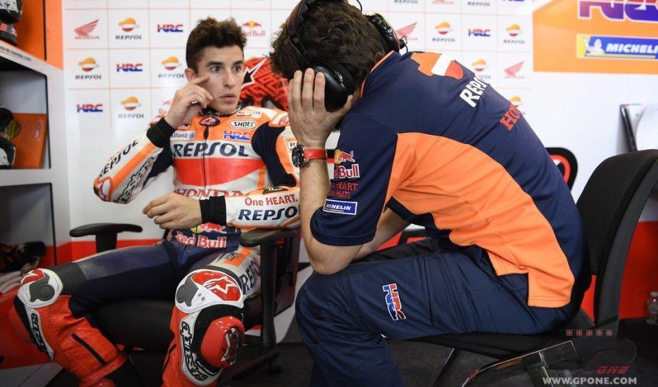 MotoGP: Marquez: il mio futuro? ho iniziato a parlare con Honda