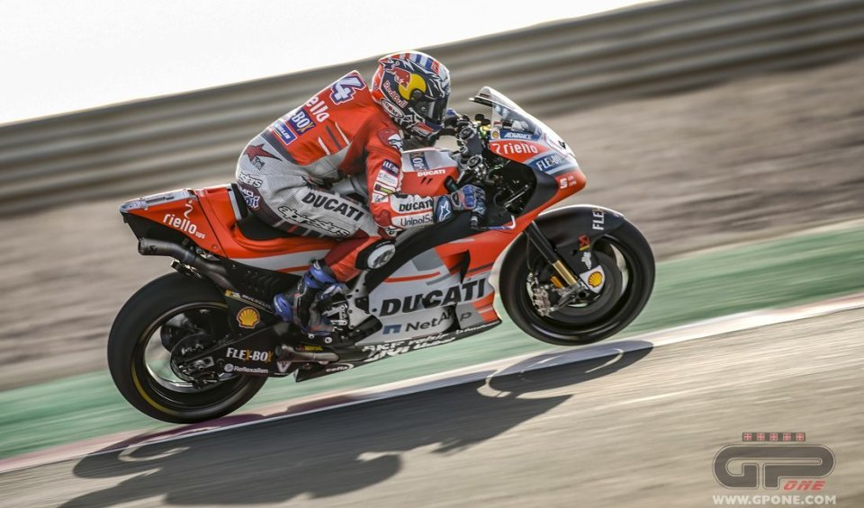 MotoGP: FP1: Italian one-two with Dovizioso and Rossi