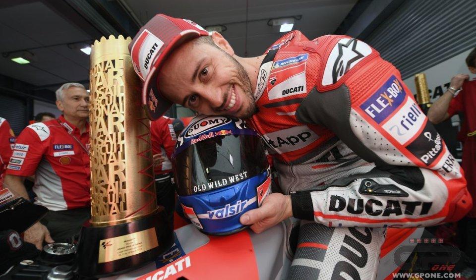 MotoGP: Dovizioso: è stato come vincere sulle minimoto