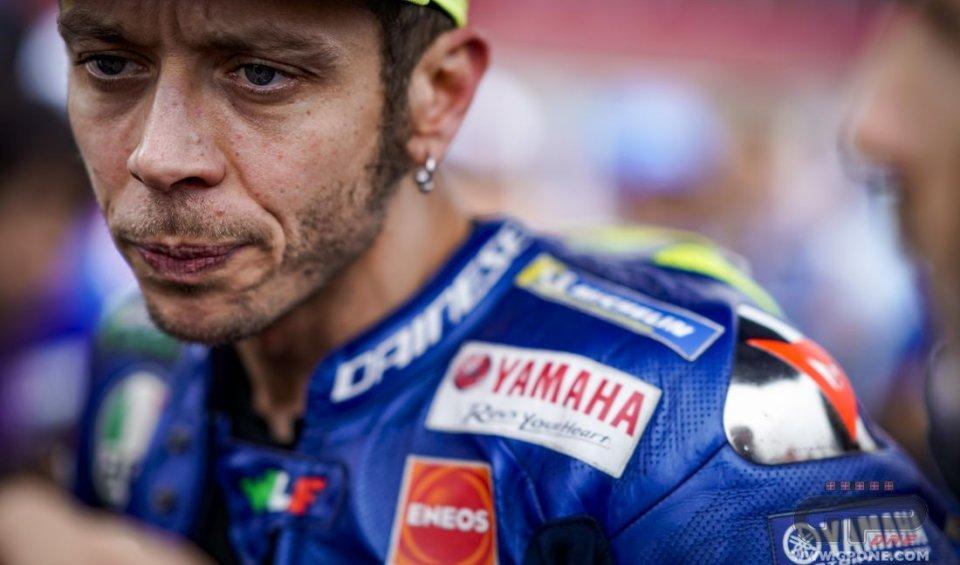 MotoGP: Rossi: non è il momento di parlare con Marquez