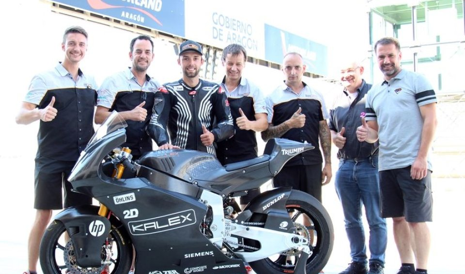 """Moto2: Folger on the Triumph Moto2: """"Getting back on a bike has been liberating"""""""