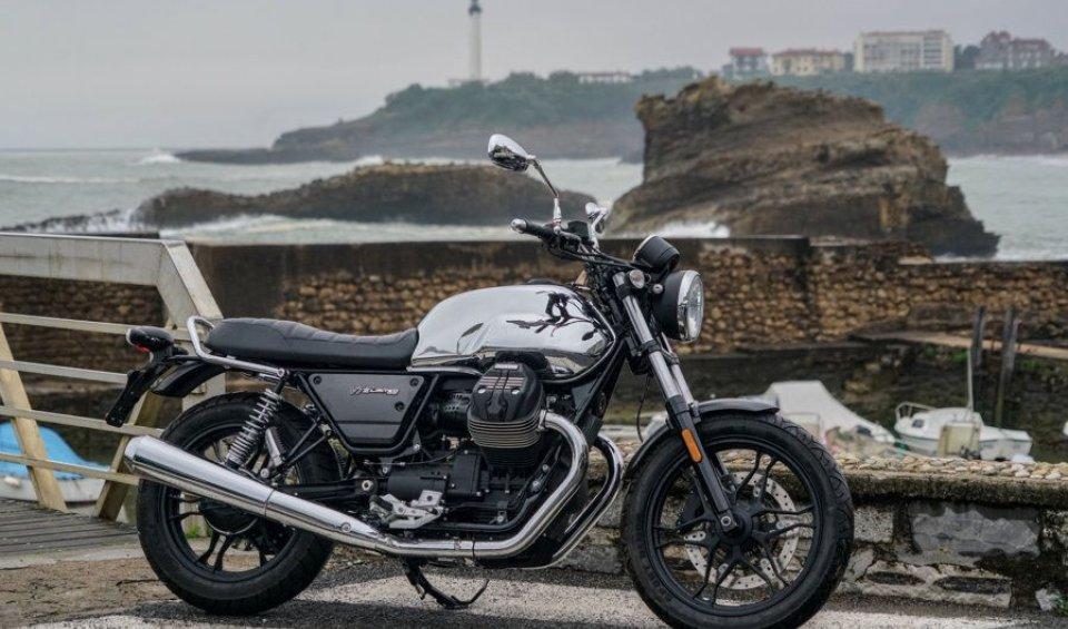 News Prodotto: Moto Guzzi V7 III Limited: Aquila esclusiva