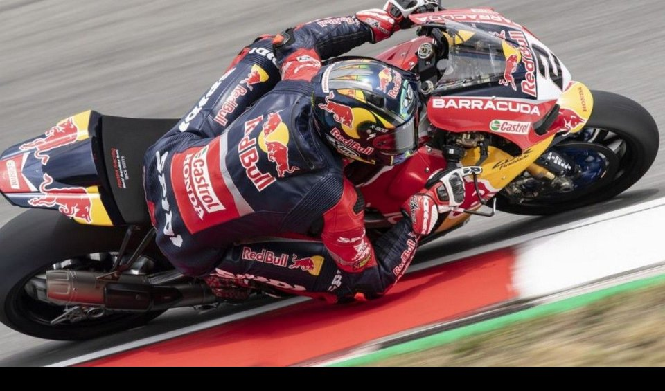 SBK: Camier: with the updated frame, we'll be close to the best
