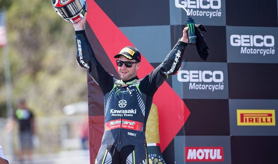 "SBK: Rea irrepressible: ""I win with the rules against me"""