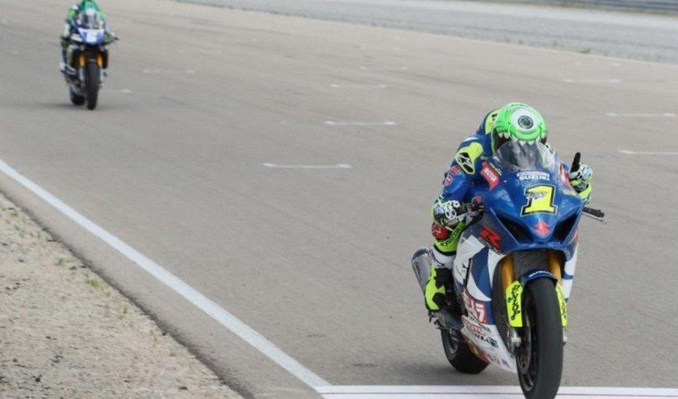 MotoAmerica: 200th win for Suzuki in Utah thanks to Elias