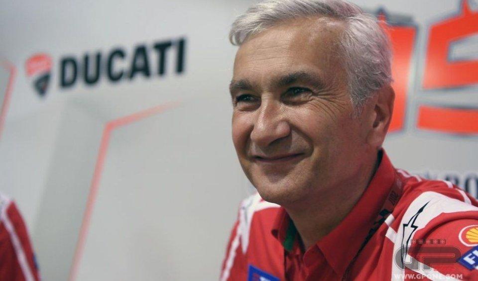 MotoGP: Tardozzi: Rossi's criticism of Yamaha? I don't agree