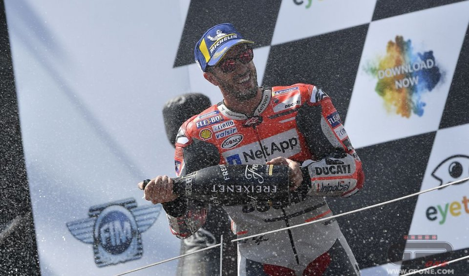 "MotoGP: Dovizioso: ""It's right to be disappointed"""