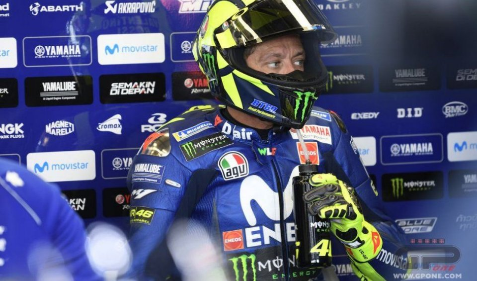 "MotoGP: Rossi is not giving in: ""I want to be back on the podium at Aragon"""