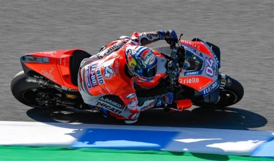 MotoGP: Furia Rossa, Dovizioso in pole a Motegi, 6° Marquez