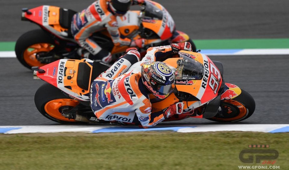 "MotoGP: Marquez: ""In the garage for FP2? They tied me to the chair!"""