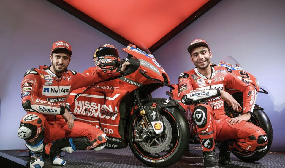"""MotoGP: Petrucci: """"Dovizioso and I need each other"""""""