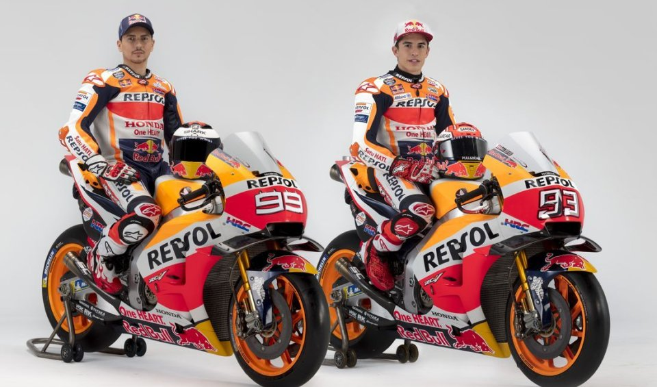 MotoGP: Marquez and Lorenzo, the first 'family' photos