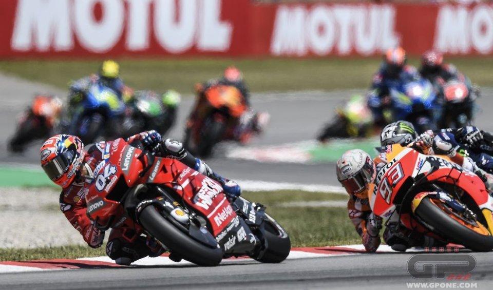 "MotoGP: Dovizioso: ""Lorenzo was not clearheaded, he must be penalized"""