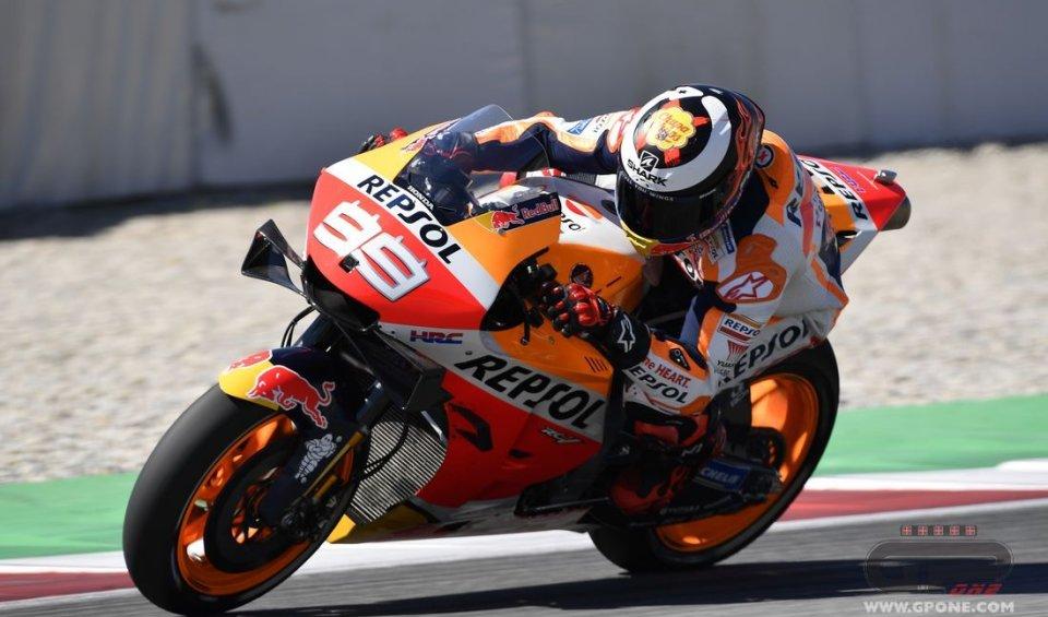 "MotoGP: Lorenzo: ""A fall at 200 km/h, it scared me"""