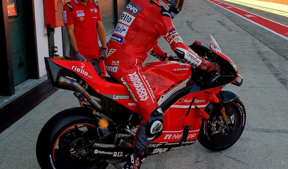 MotoGP: Ducati and Yamaha at work: test for Pirro and Folger at Misano