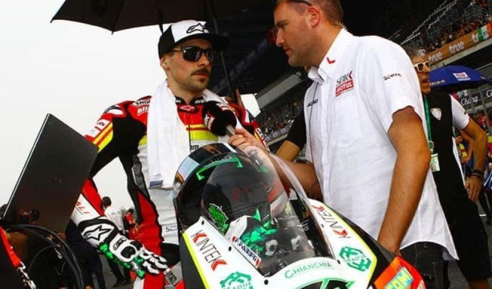 SBK: BREAKING NEWS: Eugene Laverty with BMW in 2020