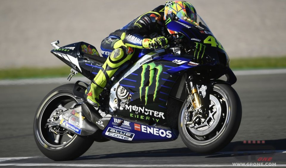 """MotoGP: Rossi: """"The problem with the 2020 M1? A one euro part, as usual"""""""