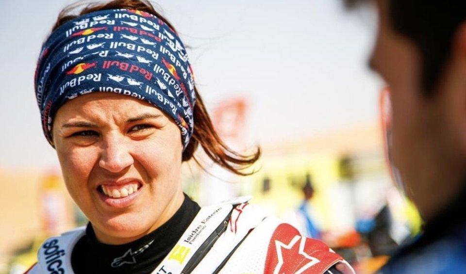 "Dakar: Laia Sanz: ""I wasn't allowed to enter the gym in Saudi Arabia."""