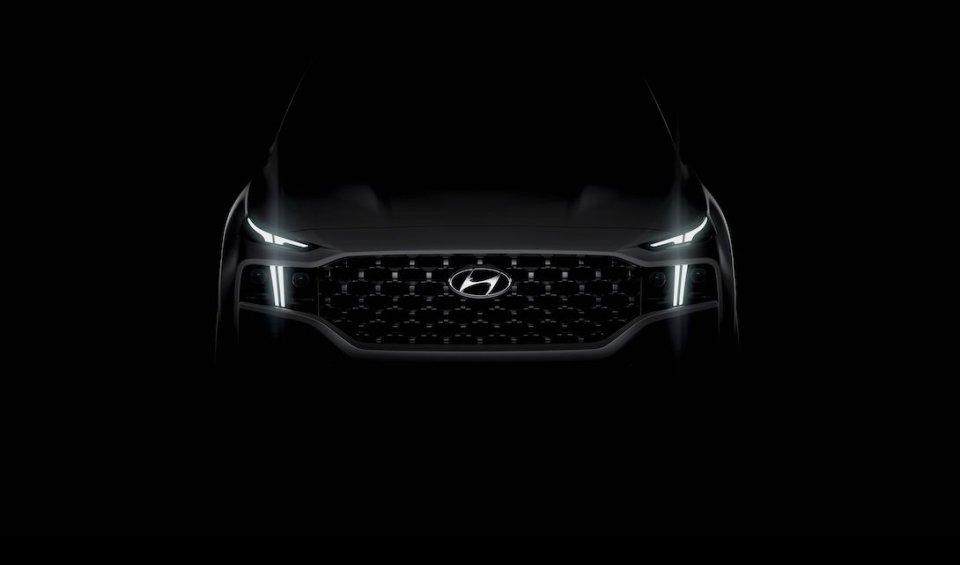 Auto - News: La Nuova Santa Fe si avvicina, Hyundai svela i primi dettagli