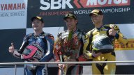 SBK: West on the podium with a borrowed engine