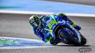 """MotoGP: A Jerez Iannone 1°: """"tutto perfetto"""". Spavento per Davies"""