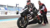 SBK: Lorenzo Zanetti porta in pista a Jerez la Panigale V4