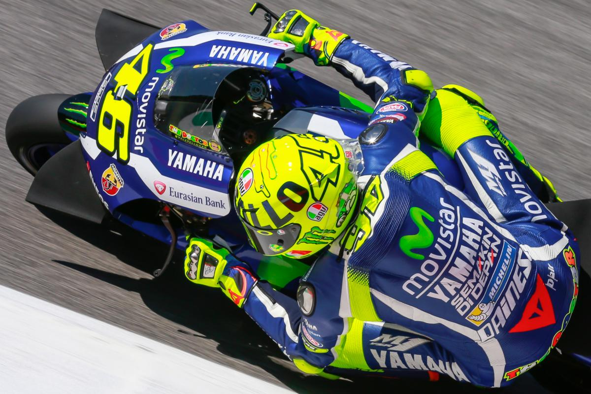 MotoGP, Show of strength: Valentino Rossi on the pole at Mugello | GPone.com