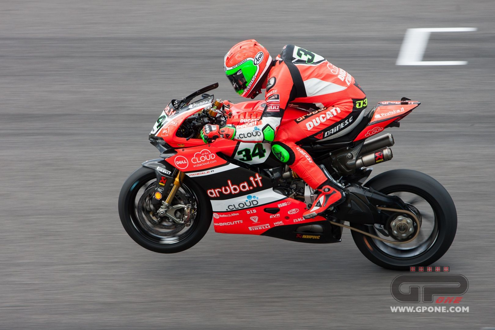"""SBK, Davies: """"Forced to recover after making contact"""" 