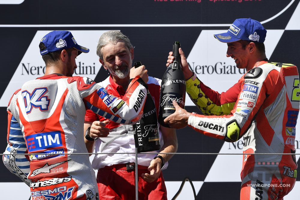 Andrea Iannone takes maiden MotoGP victory as Ducati secure Austria 1-2