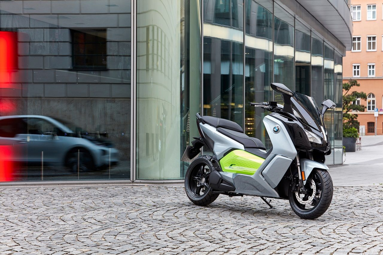 Due versioni, più autonomia — BMW C evolution