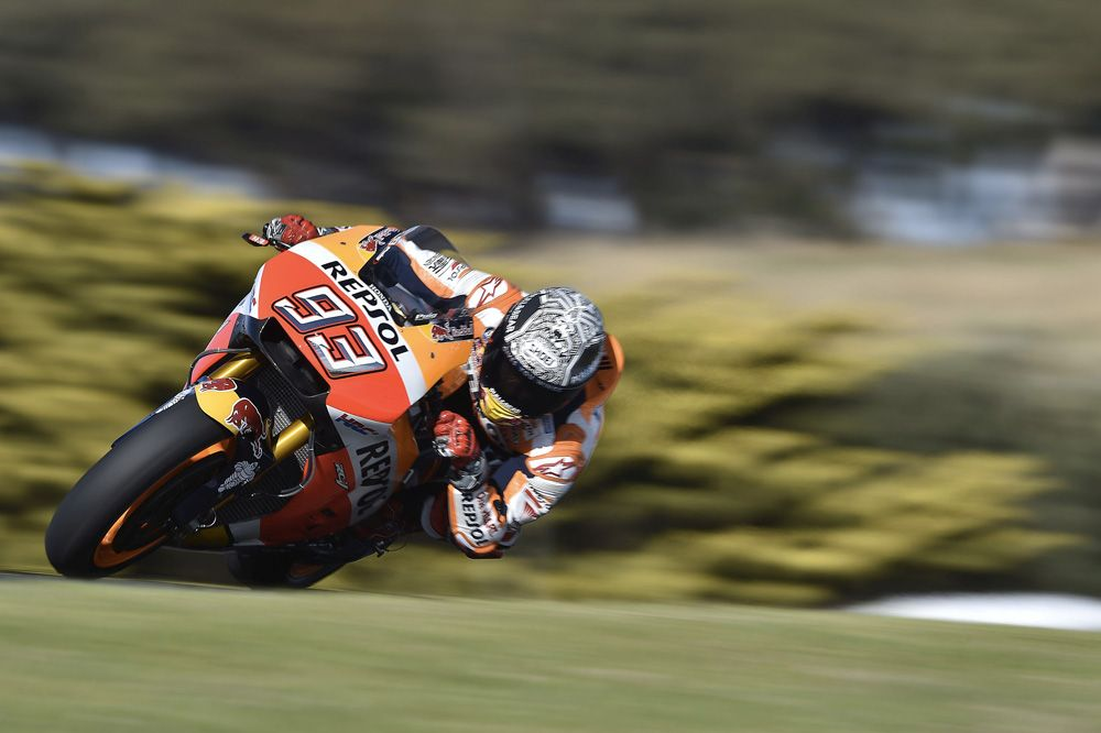 MotoGP, VIDEO. At Phillip Island with Marquez and Pedrosa | GPone.com