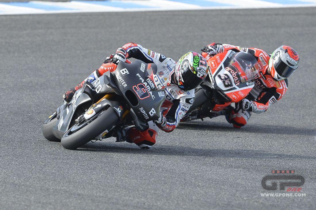 MotoGP, MotoGP VS SBK: arm wrestling at Phillip Island | GPone.com