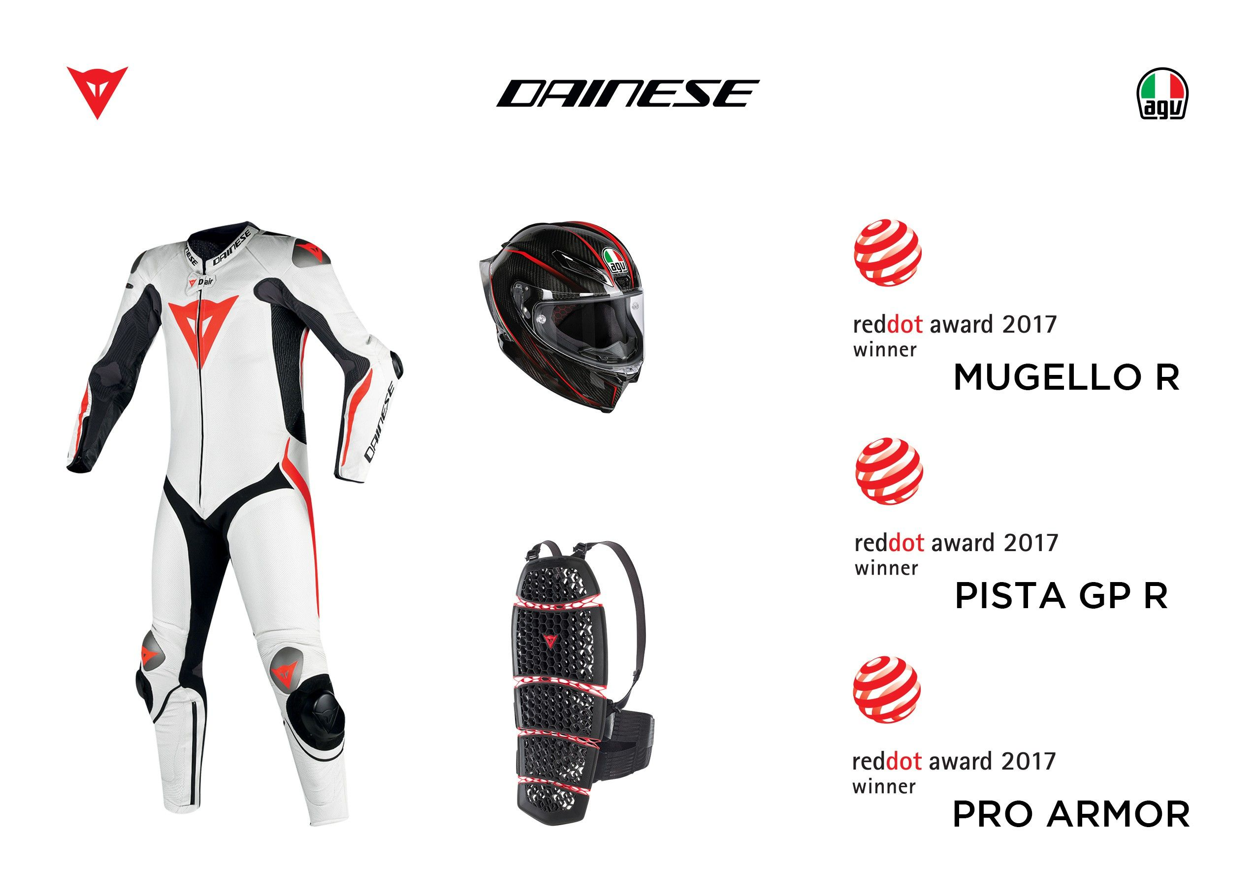 news prodotto dainese won the 39 red dot design award 39. Black Bedroom Furniture Sets. Home Design Ideas