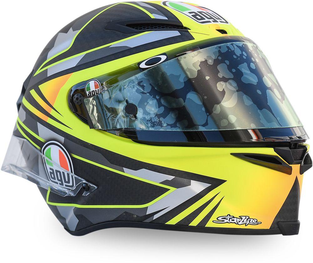 Moto2, Joan Mir's special helmet for the Moto2 debut ...