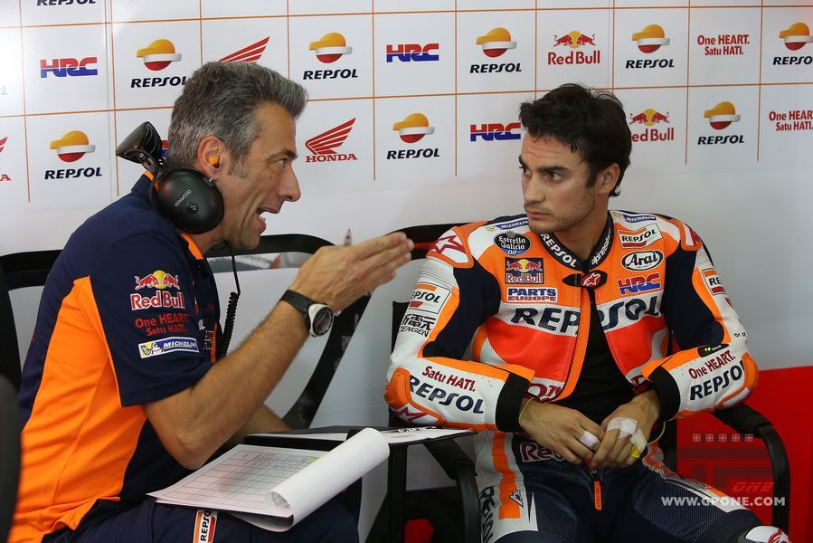 Honda's Marc Marquez romps to pole at a wet Argentinian GP