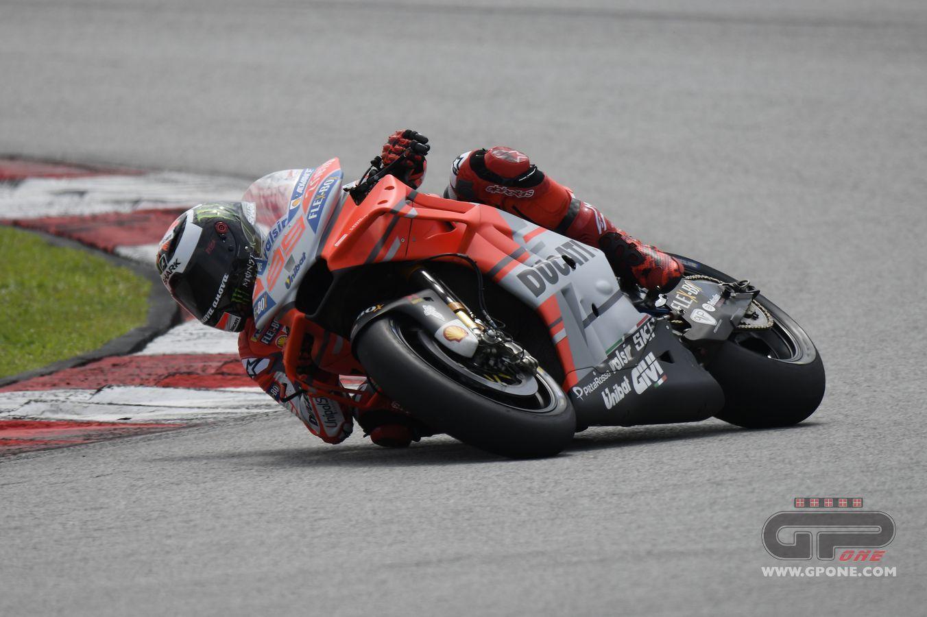 Moto Gp, A Sepang il più veloce è Jorge Lorenzo. Rossi ottavo