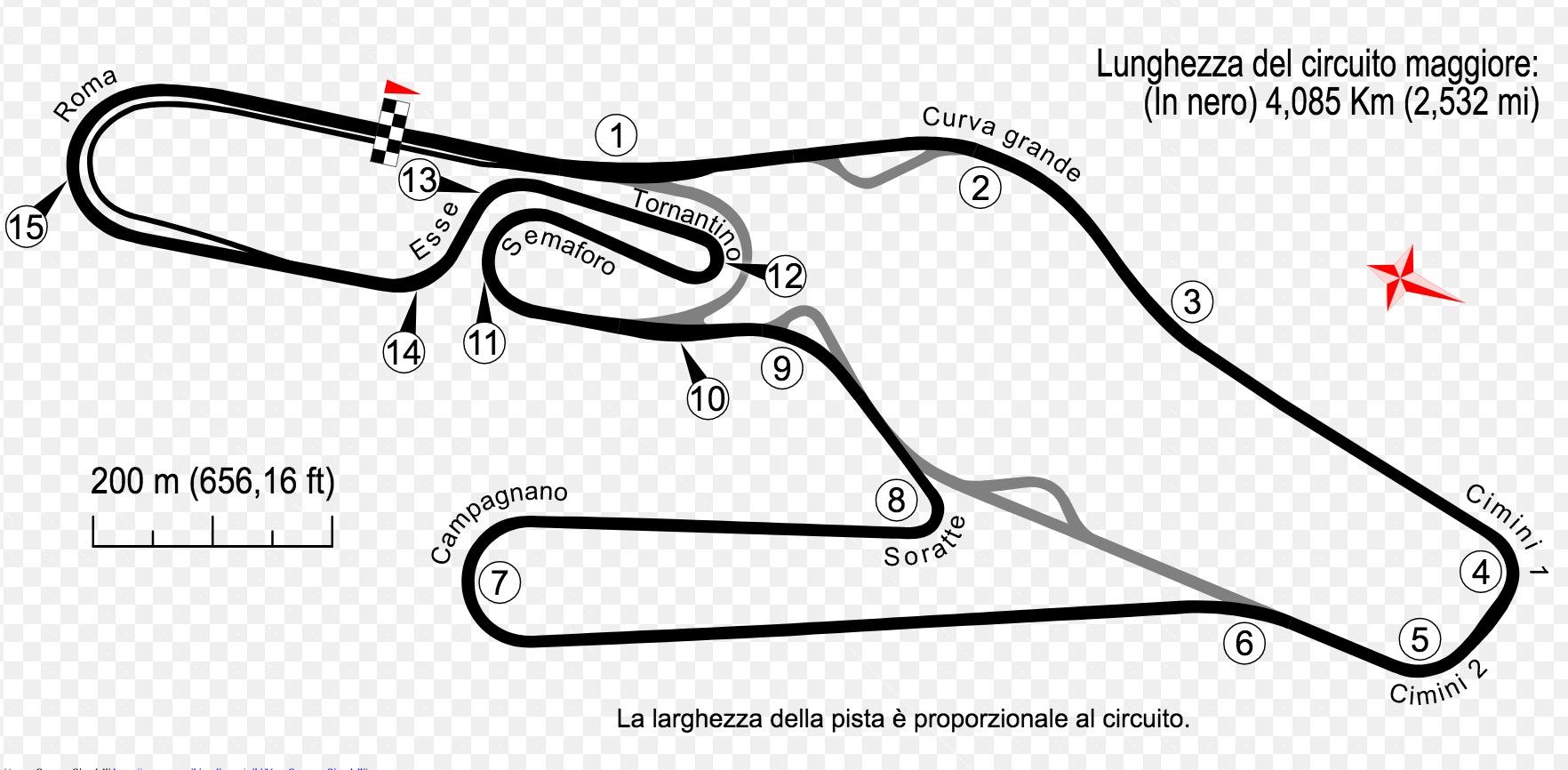 Circuito Vallelunga : Autodromo aci vallelunga vivi campagnano